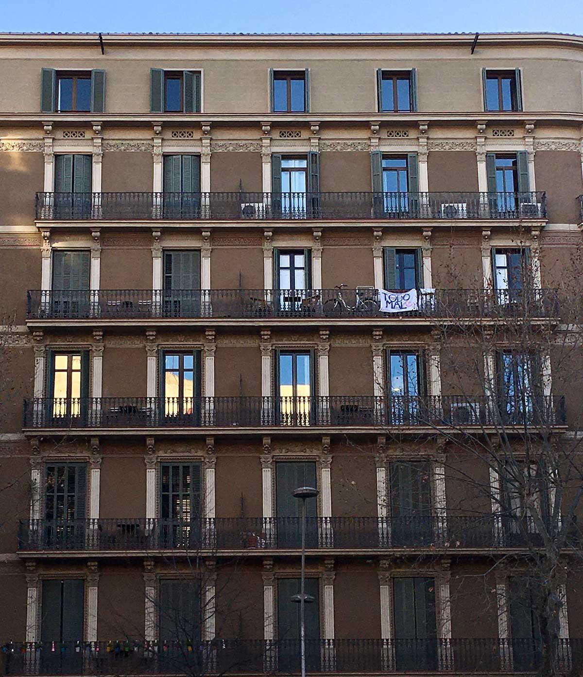 Calle Balmes. Barcelona. 2021