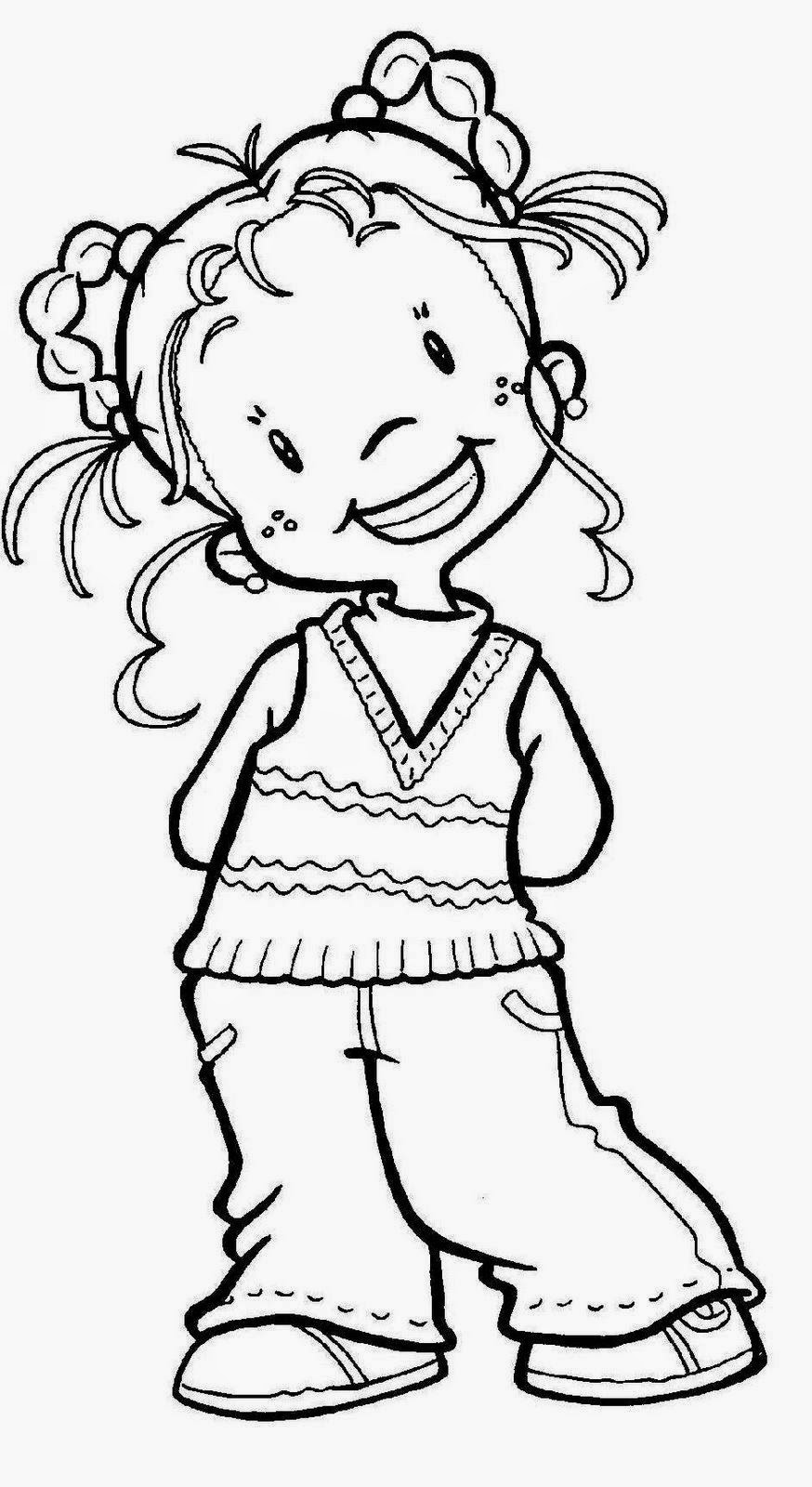 Dibujos Para Colorear Maestra De Infantil Y Primaria Dibujos De