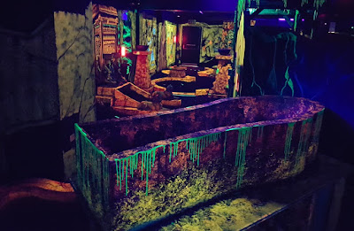 Curse of the Mummy 4D Cosmic Golf in Castleford