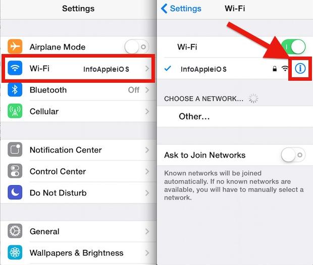 Cara Rubah DNS iOS iPhone