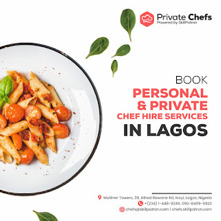 """Jake Adebayo's SkillPatron Launches an """"on-demand' Personal & Private Chef For Hire Service in Africa 6"""