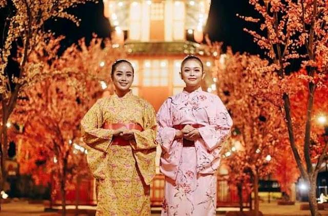 Dira Balung, Suasana Jepang yang Kental,Harga Tiket