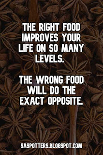 Quote about the importance of healthy food