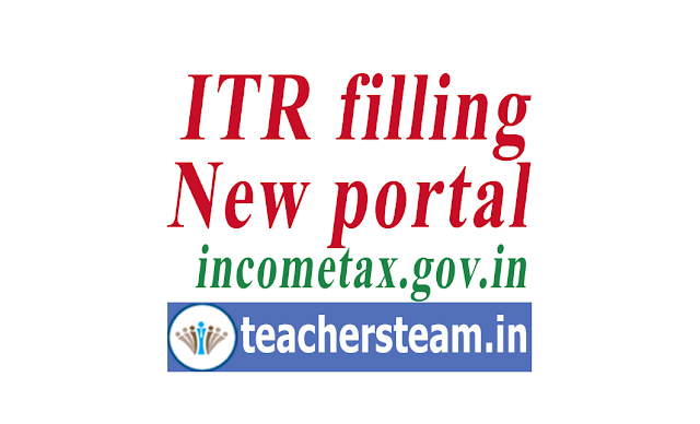 Benefits and Features of new ITR filing portal www.incometax.gov.in