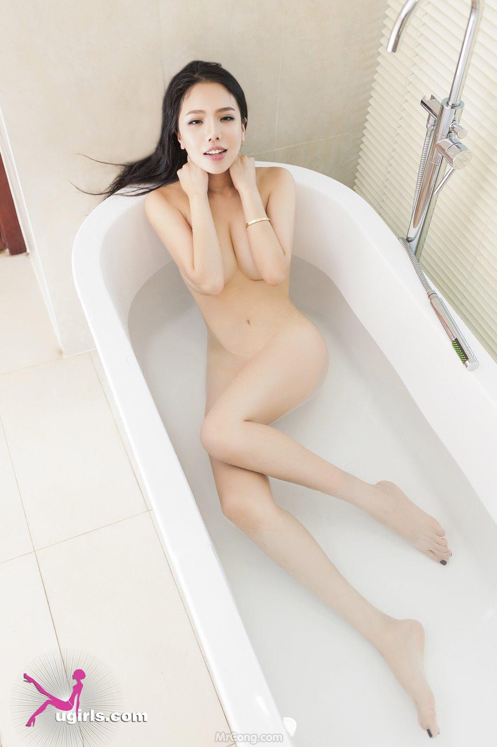 Image MrCong.com-UGIRLS-035-Ni-Xiao-Yao-034 in post Mê mẩn ngắm vòng một nở nang của người đẹp Ni Xiao Yao (妮小妖) trong bộ ảnh UGIRLS 035