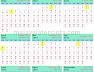 Kalendar Islam 2022  Masihi / 1443-1444 Hijrah Malaysia