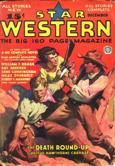 Rough Edges: Saturday Morning Western Pulp: Star Western