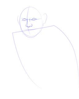 Langkah 3. Super Simpel Menggambar James Rodríguez