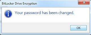 password has been changed
