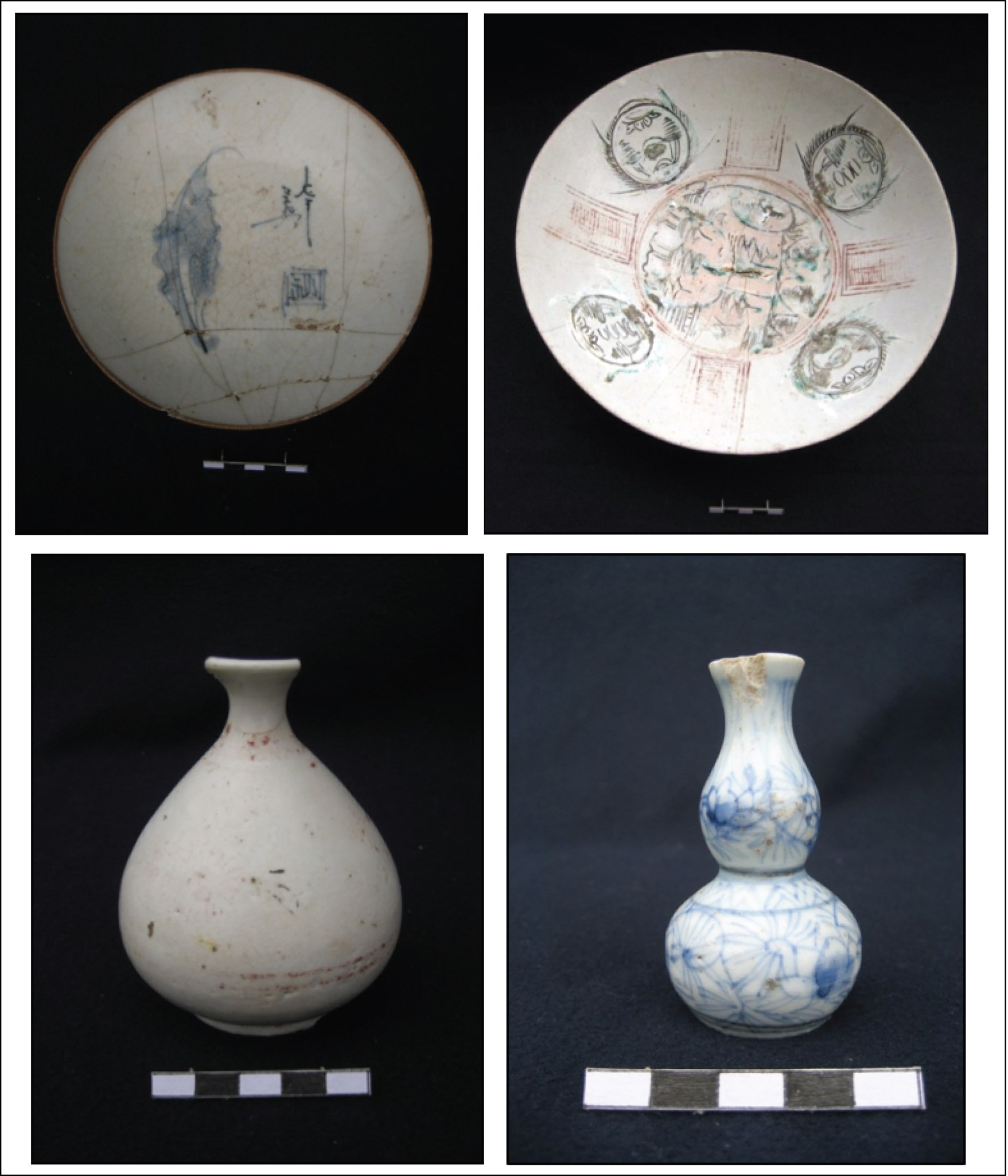 porcelain, stoneware and earthenware vessels Historical Burials Excavated in Boljoon, Cebu [Philippine History]