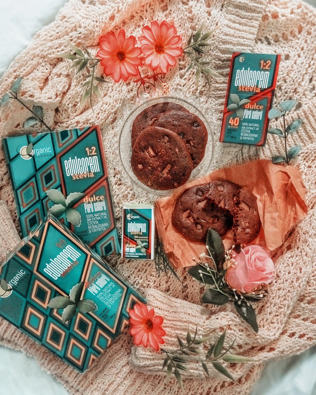 Edulcorem stevia nosugarshop - reteta cookies prajitura fursec biscuiti ciocolata cafea scortisoara pareri review