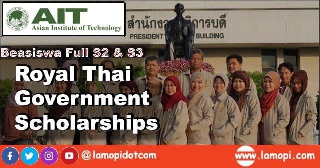 Beasiswa Full S2 dan S3 AIT Thailand