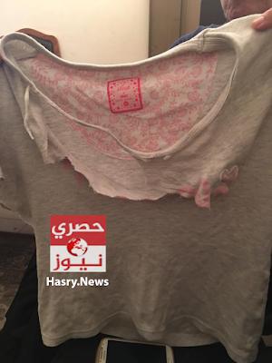 تقطيع ملابس ايمان زوجة شادي نجل اللواء مدحت الدولجي