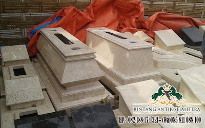 Model Kijingan Granit Marmer, Kuburan Makam Tulungagung, Pusara Makam Marmer