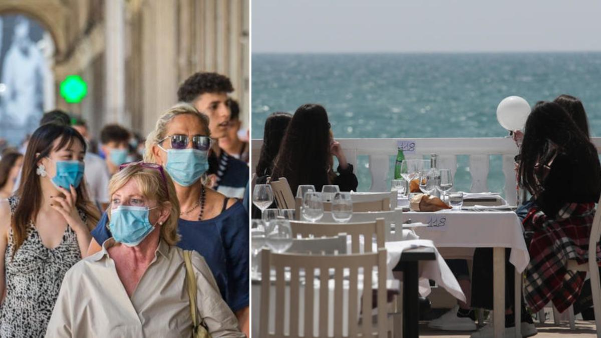 Covid Sicilia zona gialla regole ed obblighi mascherina ristorante