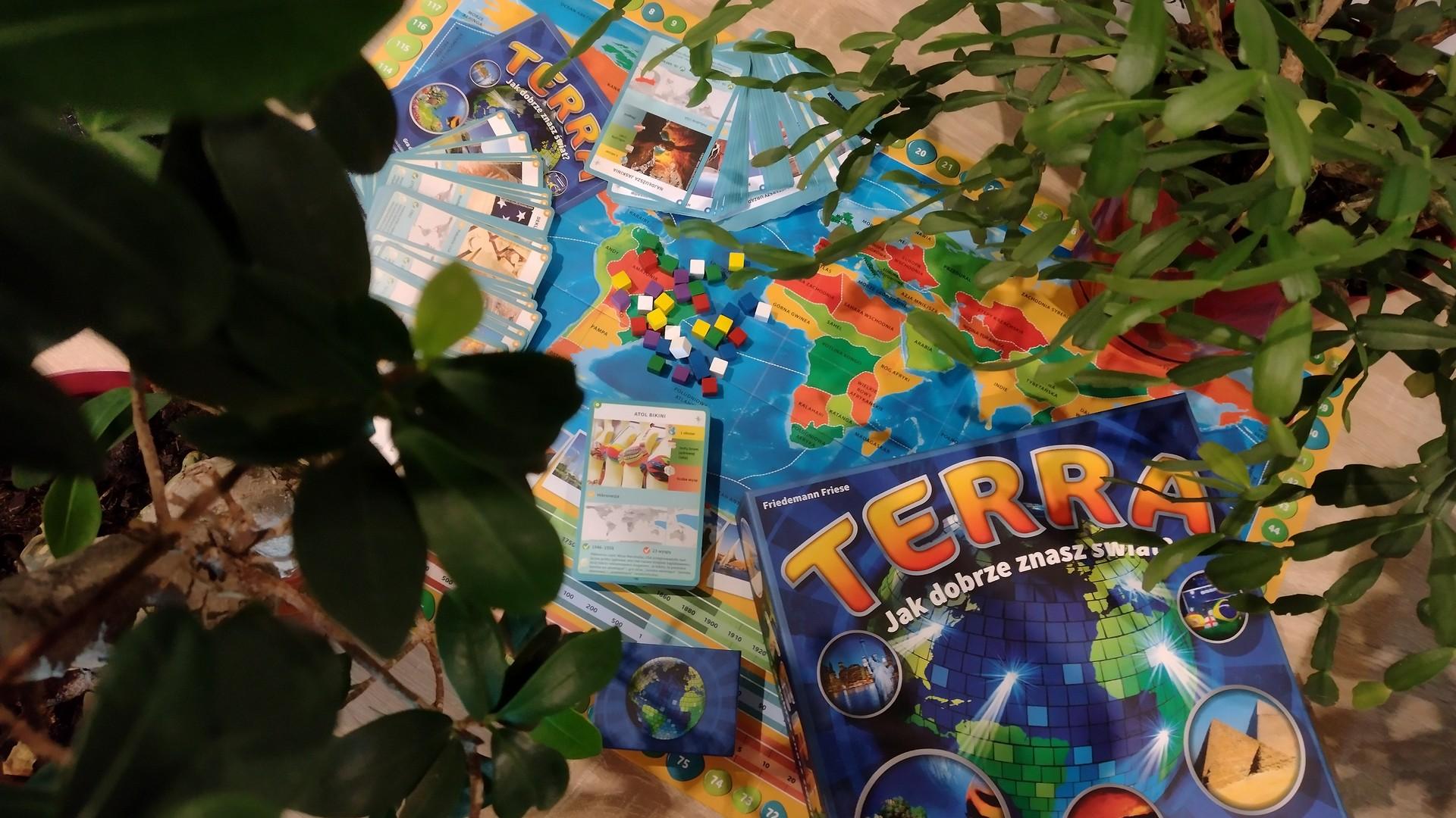 Terra. Jak dobrze znasz świat? - recenzja gry