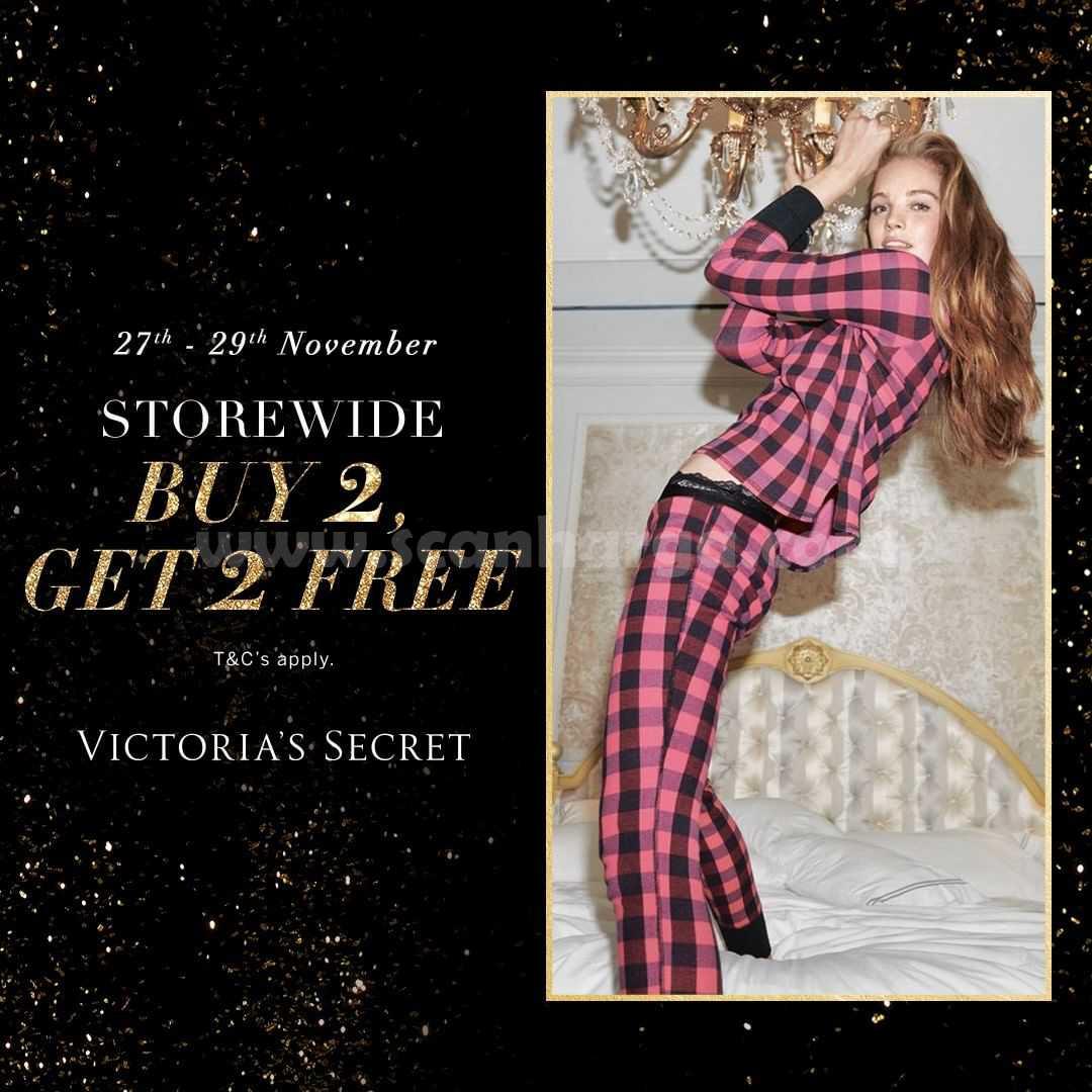 Victoria's Secret Storewide Buy 2 Get 2 Free