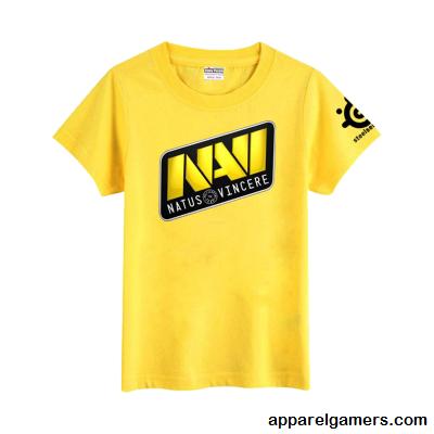 Kaos Gaming - Tshirt Navi Yellow
