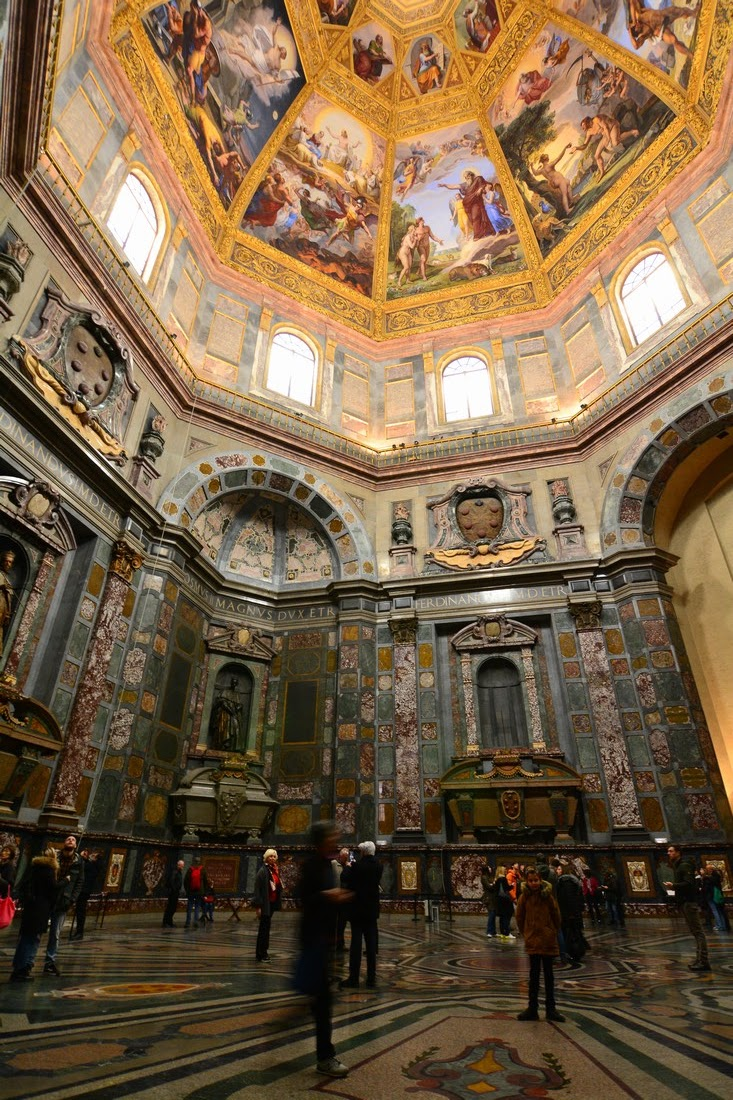 chapelle des Princes Médicis Florence
