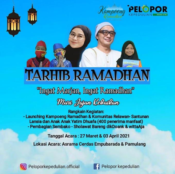 Dik Doank dan Witta Aja Siap Meriahkan Tarhib Ramadhan Pelopor Kepedulian