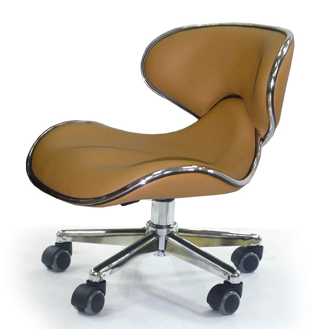 ergonomic esthetician chair purple dinning chairs pure spa direct blog euro style technician stools low