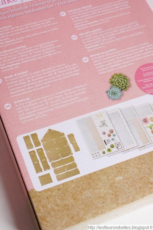 Kit mini maison détail éléments