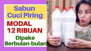 Cara Menghemat Sabun Cuci Piring
