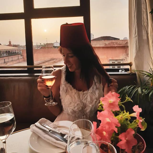 Marrakech, Medina. Le Salama al tramonto con Alessia Siena
