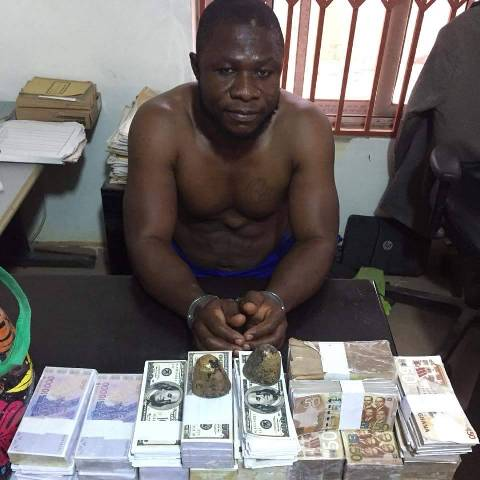 Juju man arrested for possessing fake currencies