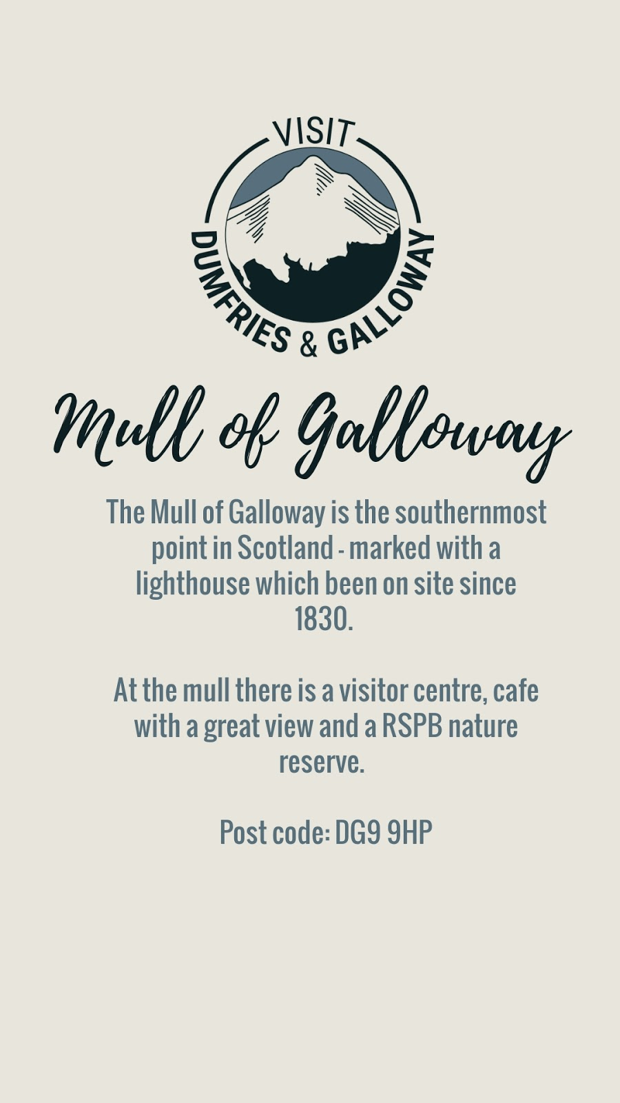 mull of galloway visit dumfries and galloway stranraer lighthouse