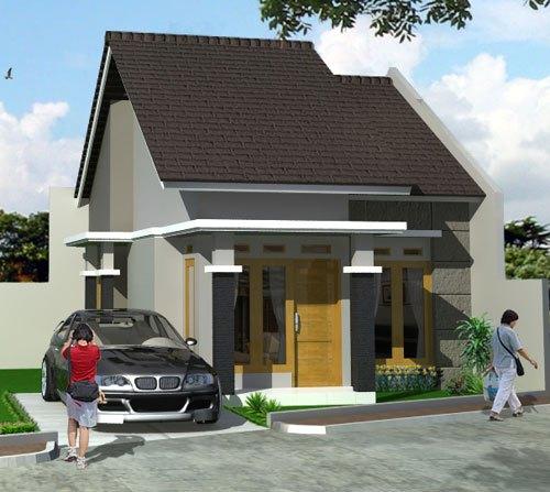 Desain Rumah Minimalis Satu Lantai Simpel 2