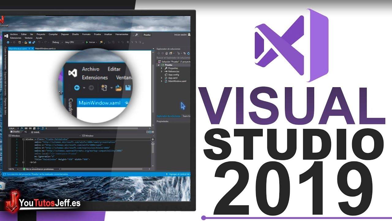 Descargar Visual Studio Ultima Versión