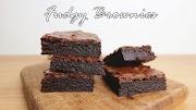 Fudgy Brownies 脆皮軟心布朗尼蛋糕