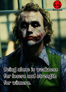 Joker attitude quotes pictures