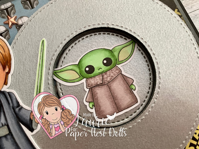 Close Up of Jedi Baby