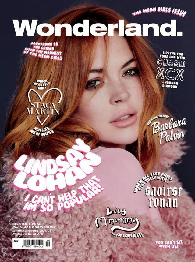 Lindsay Lohan Wonderland