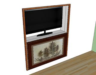 Ide desain backdrop tv