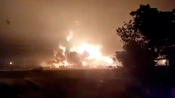 Kebakaran Kilang Pertamina Balongan, Ridwan Kamil: 5 Luka Berat-15 Luka Ringan