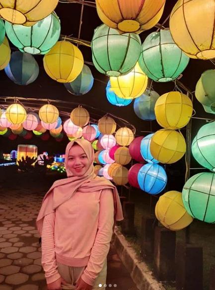 wisata Taman Pelangi Lampion Jogja