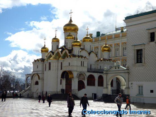 Kremlin de Moscú: Catedral de la Deposición del Manto de la Virgen