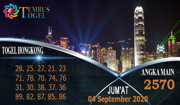Prediksi Jitu Togel Hongkong Jum'at 04 September 2020