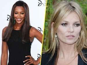 Naomi Campbell: his girlfriend Kate Moss helps him overcome his painful breakup!