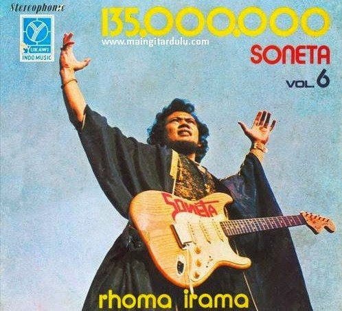 Album Soneta Volume 6 - 135.000.000 (1977)