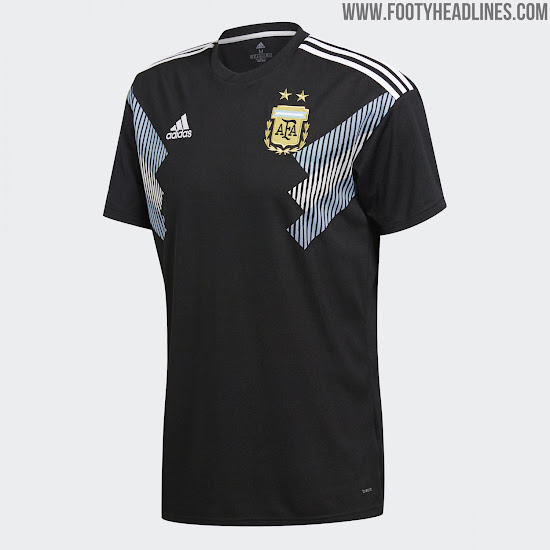 Adidas 2018 World Cup Away Kits Released - Footy Headlines b2f9c9afd