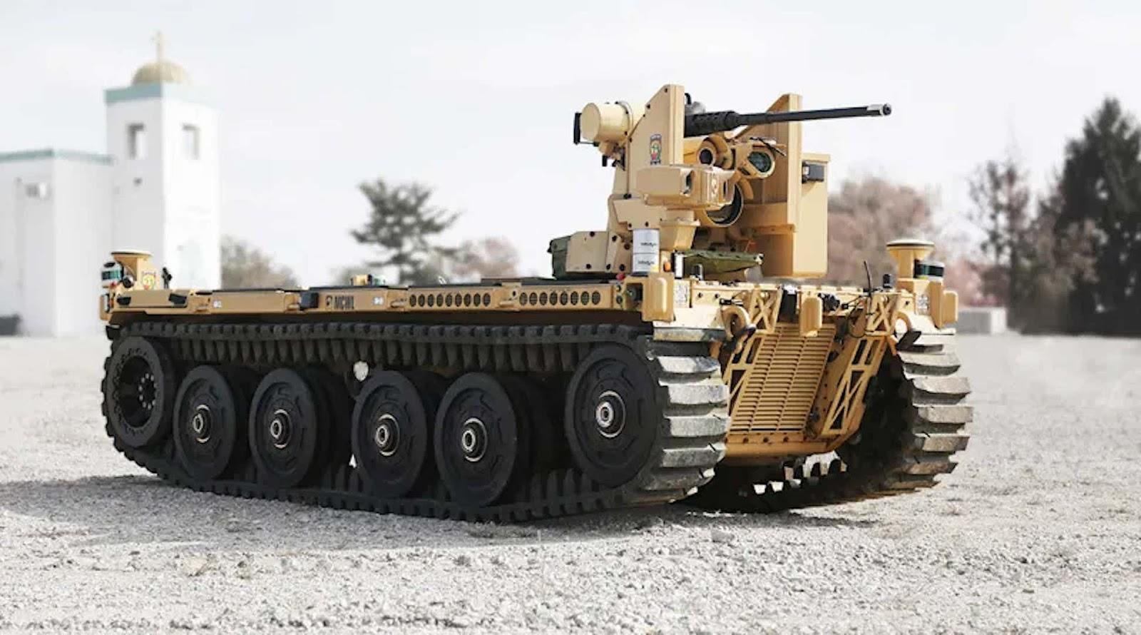 Армія США отримала на Різдво бойових роботів