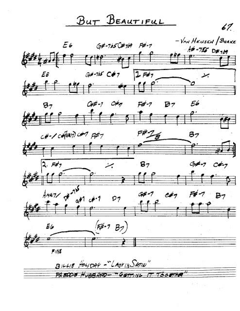 Partitura Saxofón Van Heusen and Burke