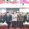 Wakapolda Sulsel Hadiri Pelantikan dan Pembacaan Sumpah Jabtan Bupati Sidrap & Jeneponto