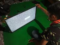 Service LCD TV Panasonic Hidup dan Ada Suara Namun Tidak Ada Gambar