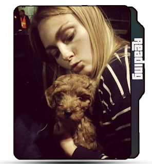 Cute AnnaSophia Robb with pet, celebrity folder icon, actress, AnnaSophia Robb folder icon, blonde girl folder icon, cute dog icon.