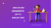 NIOS ENGLISH (202) | FREE SOLVED ASSIGNMENTS (2020-21) | TMA - ENGLISH (202) | 20-21
